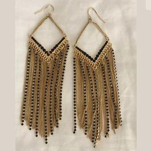 NWT Adia Kibur Tassel Earrings